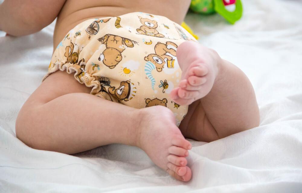 Stoffwindeln für das Baby