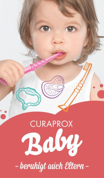 Curaproxbaby Schnuller Werbung