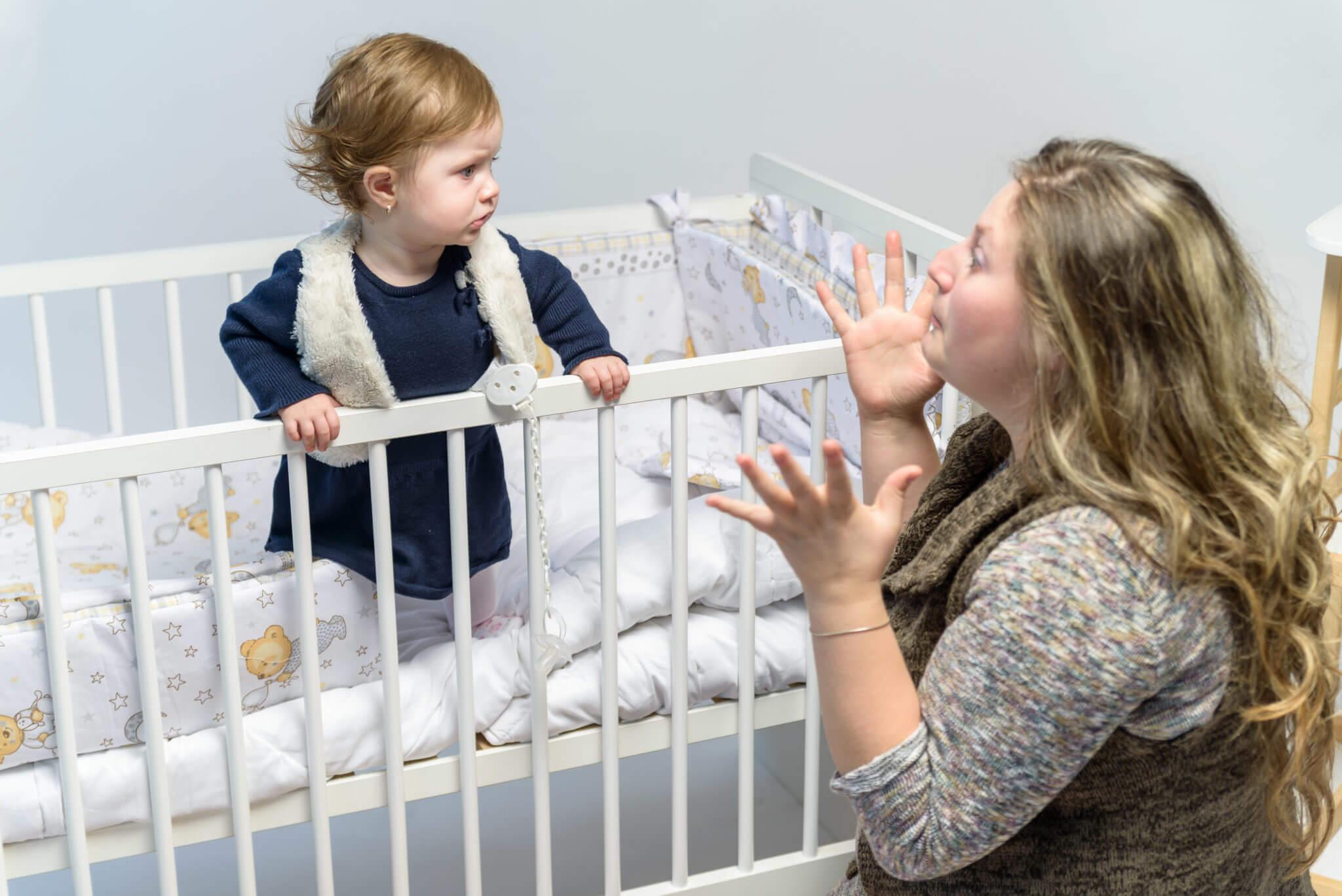 Einschlafprobleme mit Kleinkindern