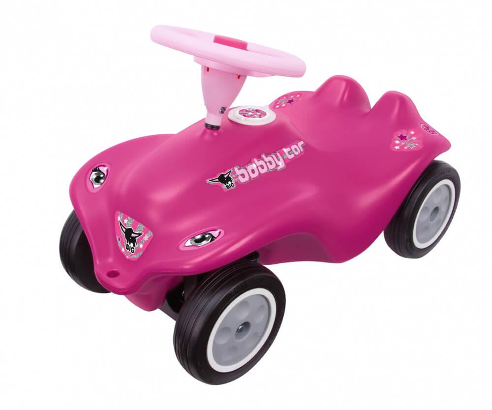 Verlosung: Pinkes Rockstar-Girl Bobby Car