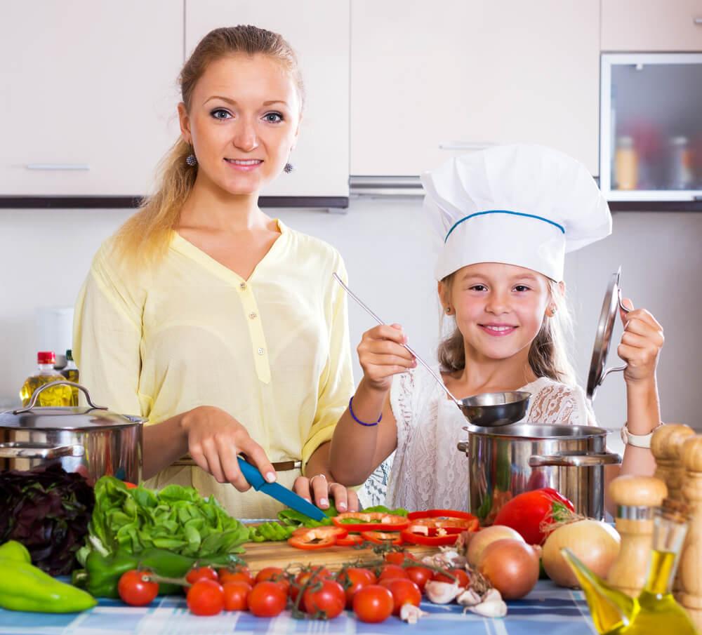 Kinder gesund ernähren