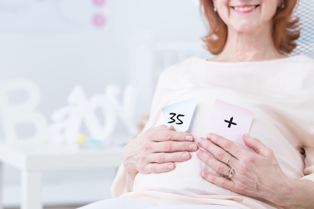 Spätgebärende gleich Risikoschwangerschaft - Ältere Schwangere