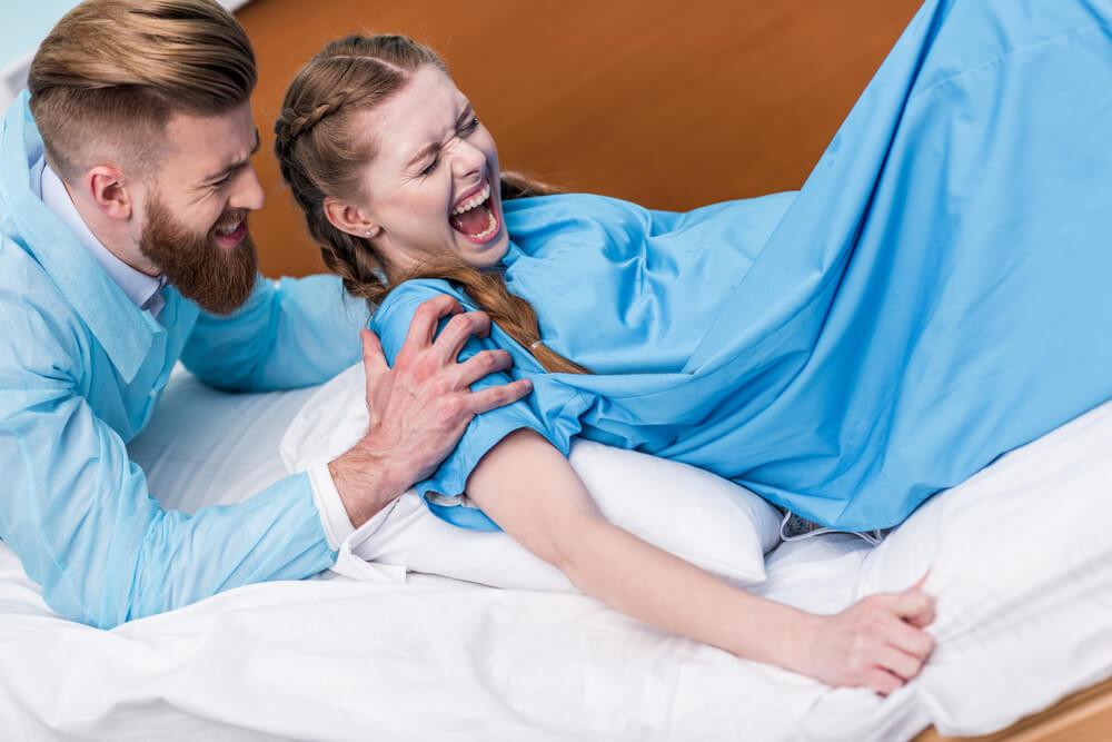Als werdender Vater bei der Geburt