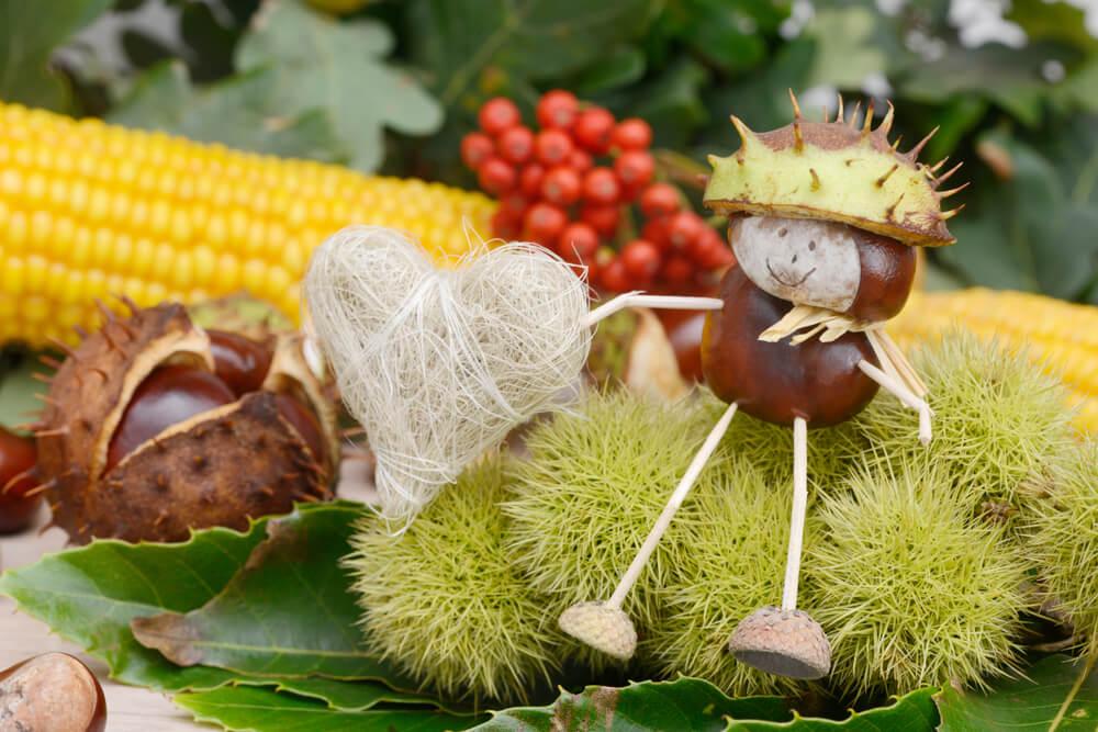 Jahreskreis - Bastellein des Herbstes