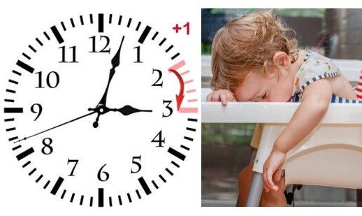 Tipps zur Zeitumstellung für Babys und Kinder – Sommerzeit