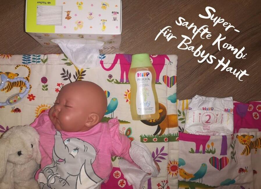 Superweiche Tücher für Babys Haut – HiPP führt die Kuschellinie fort / Werbung