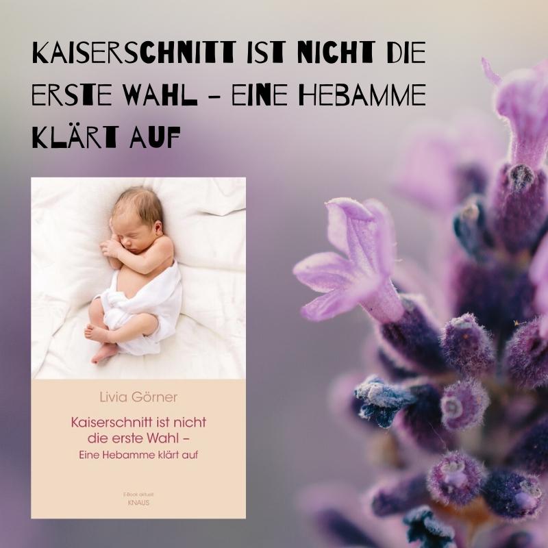 Buchempfehlung: Livia Clauss-Görner – Kaiserschnitt ist nicht die erste Wahl